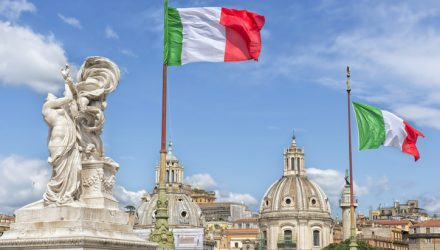 Italy ETFs Climb on ECB Stimulus Bets, Improved Fiscal Budget
