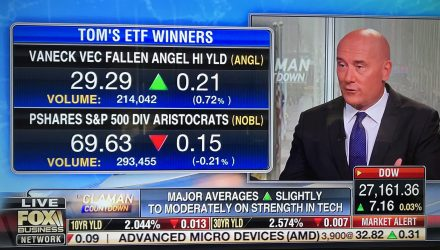 Tom Lydon on 'The Claman Countdown' Two ETFs Offering High Yield