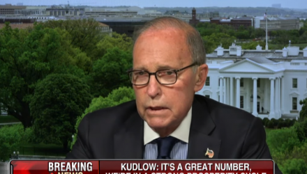 White House Economic Adviser: Fed Owes a Rate Cut