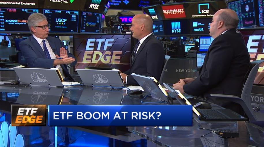 ETF Boom At Risk? ETF Trends' Tom Lydon Says 'No' on CNBC