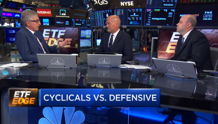 Tom Lydon Discusses Value of Cyclical ETFs Over Defensives On CNBC
