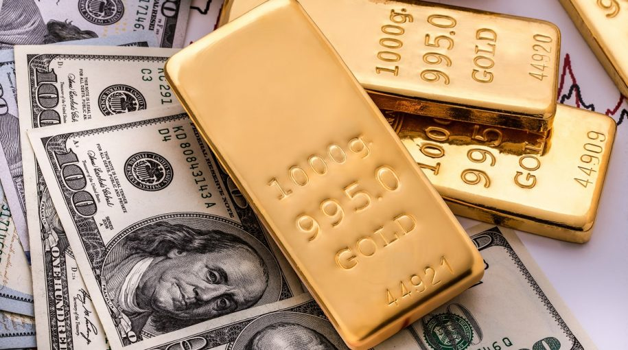 Gold Pacing for Third Positive Week in Four