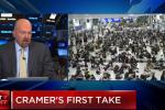 Jim Cramer - Hong Kong Protests Present More Risk Than Trade War