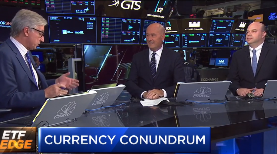 Tom Lydon Discusses Currency Hedging ETF Plays on CNBC