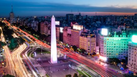 Argentina ETF's Top Holding Can Weather Political Volatility