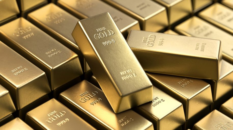 Gold prices dip on upbeat appetite for riskier assets