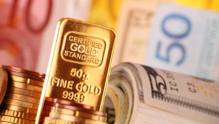 Goldman Giddy For Gold And That's Good For ETFs