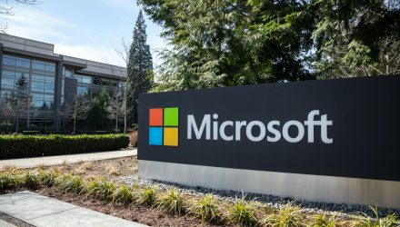 Microsoft Aids ETFs By Launching 7% After Surge In Cloud Services