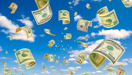 U.S. Stock ETFs Climb as Washington Nears $2 Trillion Stimulus Package