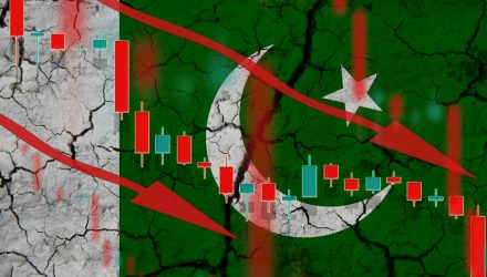 Pakistan ETF Plunges as Economy Contracts for 1st Time in Seven Decades