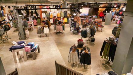 Retail ETFs Gain Monday Despite J. Crew Bankruptcy