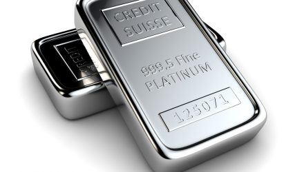 ETF Investors Pile into Platinum, While They Exit Gold