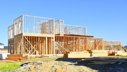 Homebuilder ETF Rallies As Bonds Spike This Week