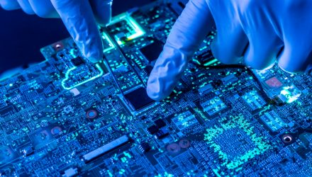 Sizing up a Semiconductor ETF Approaching New Highs