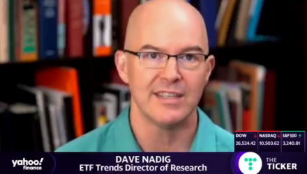 Dave Nadig Talks July's Gold Rush On Yahoo Finance