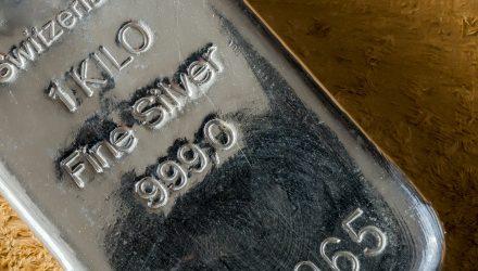 Silver ETFs Gain 3% Monday As White Metal Surges