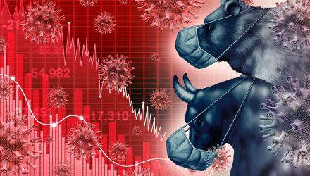 Stock ETFs Trade Mixed Amid Bank Earnings And Virus Woes