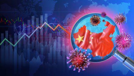 U.S. Stock ETFs Slide on Concerns Over China's Coronavirus Uptick