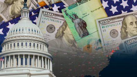 U.S. Stock ETFs Strengthen as Markets Wait on Stimulus