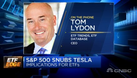 ETF Edge Tom Lydon Talks Tesla Snub By S&P 500