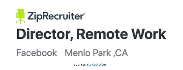 Zip Recruiter Job Ad