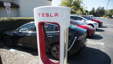 ETFs With Tesla Jump As The Electric Automaker Gets An Upgrade