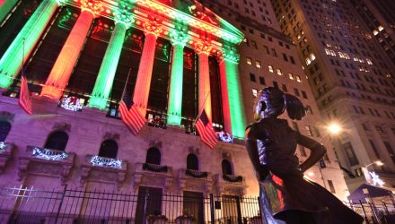 U.S. Stock ETFs Showing a Little Holiday Cheer