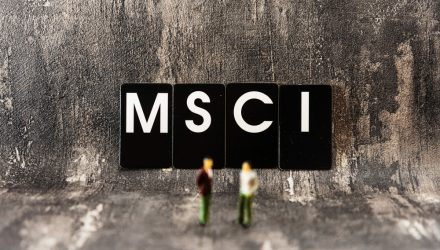 Index Provider MSCI Seeing Strong Demand for ESG Funds