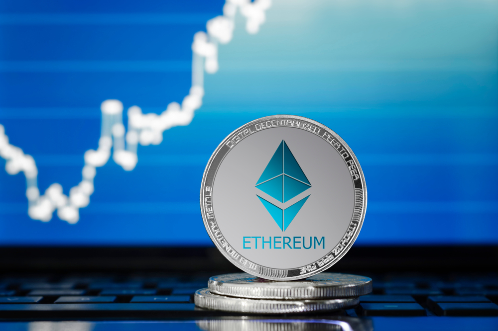 Ethereum outperforming Bitcoin