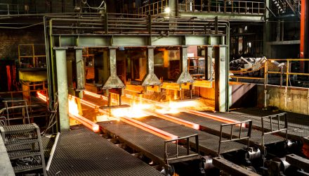 As Chinese Steel Futures Rise, Consider the 'SLX' ETF