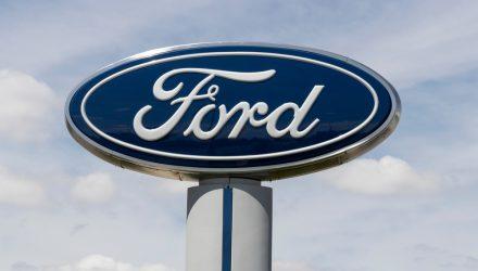 A Transportation ETF Accelerates on Ford's New EV Pickup Truck