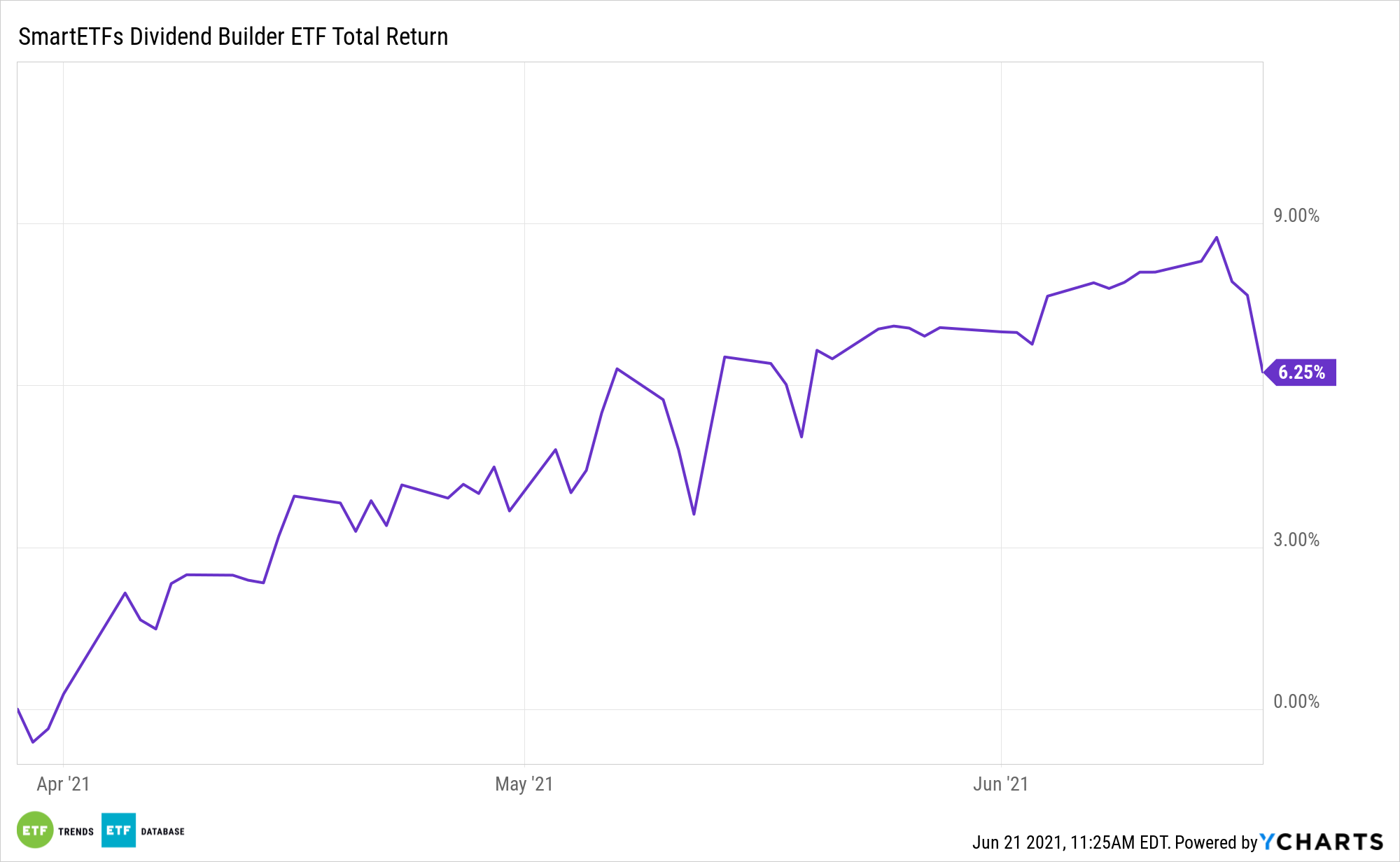 DIVS 1 Year Performance