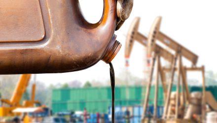 Crude ETFs Slip After Oil Hits Fresh Highs