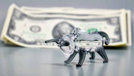 Markets In Motion - Glass Half Bull
